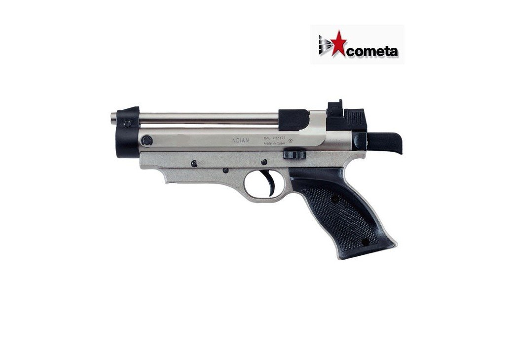 COMETA PISTOLA INDIAN NICKEL