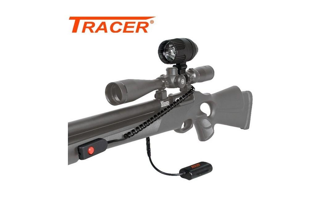 TRACER TRI-STAR LED GUN LIGHT 200m 1200 Lumens