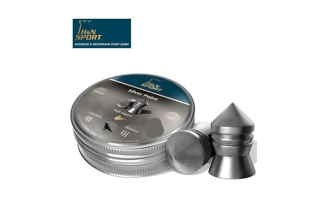 H&N SILVER POINT 5.50mm (.22) 200PCS
