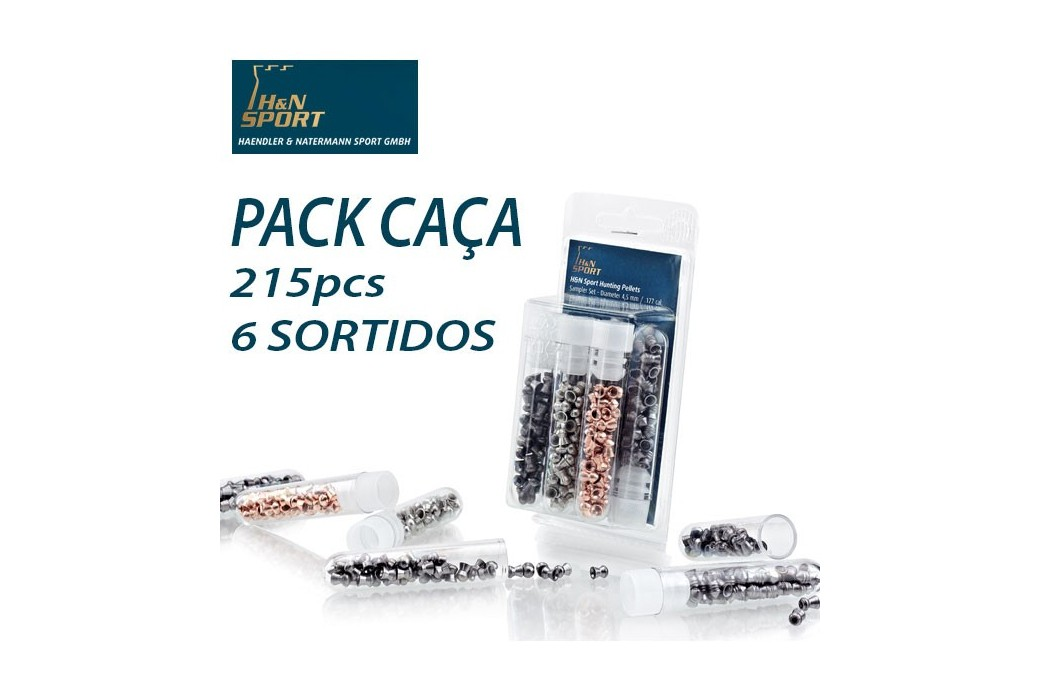 H&N PACK CAÇA PERFORMANCE 4.5mm (.177) 215PCS