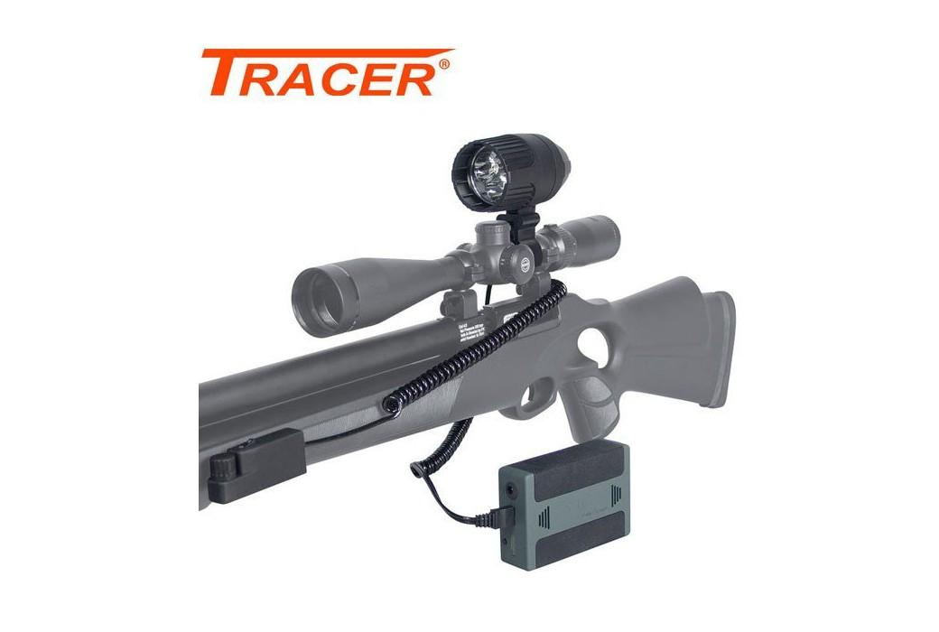 TRACER TRI-STAR PRO LED GUN LIGHT 300m 1600 Lumens