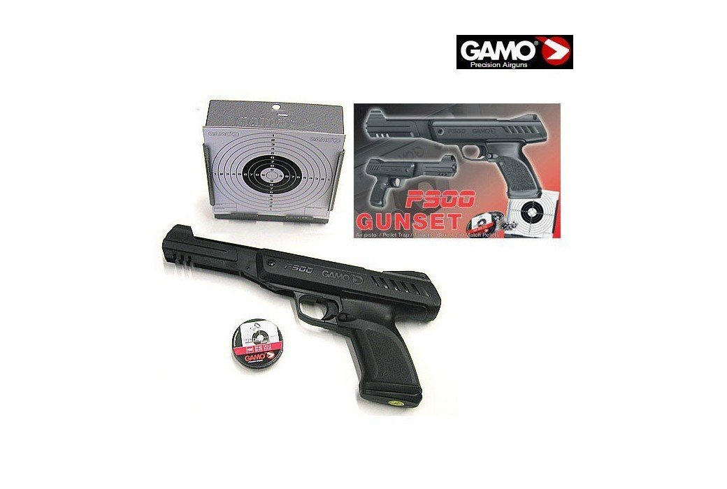 GAMO PISTOLA P900 GUNSET
