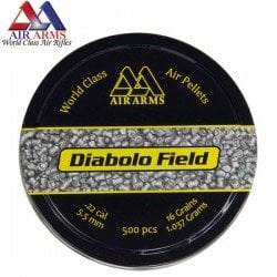 MUNITIONS AIR ARMS DIABOLO FIELD 500pcs 5.52mm (.22)