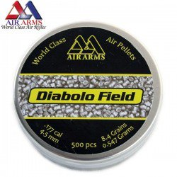 BALINES AIR ARMS DIABOLO FIELD 500pcs 4.52mm (.177)