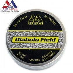 CHUMBO AIR ARMS DIABOLO FIELD 500pcs 4.52mm (.177)