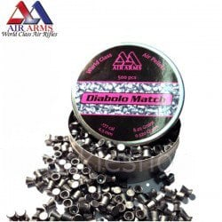 Air gun pellets AIR ARMS DIABOLO MATCH 500pcs 4.49mm (.177)