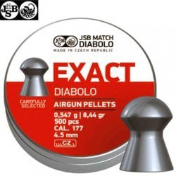 BALINES JSB EXACT ORIGINAL 500pcs 4.52mm (.177)