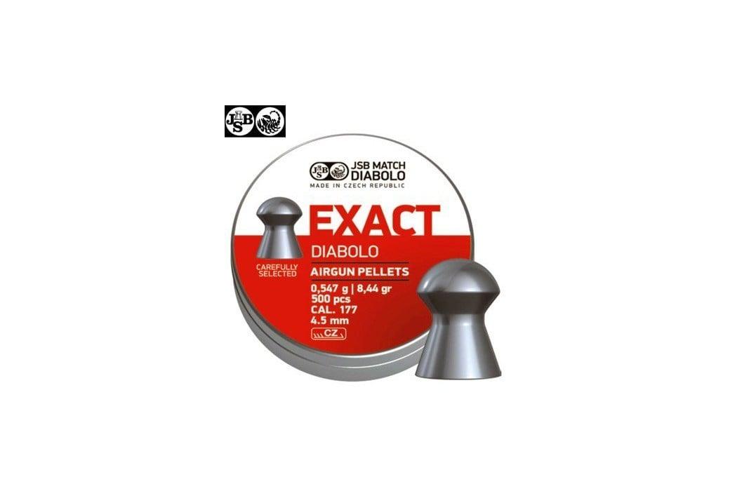 JSB EXACT ORIGINAL 500pcs 4.52mm (.177)