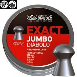 CHUMBO JSB EXACT JUMBO ORIGINAL 500pcs 5.52mm (.22)