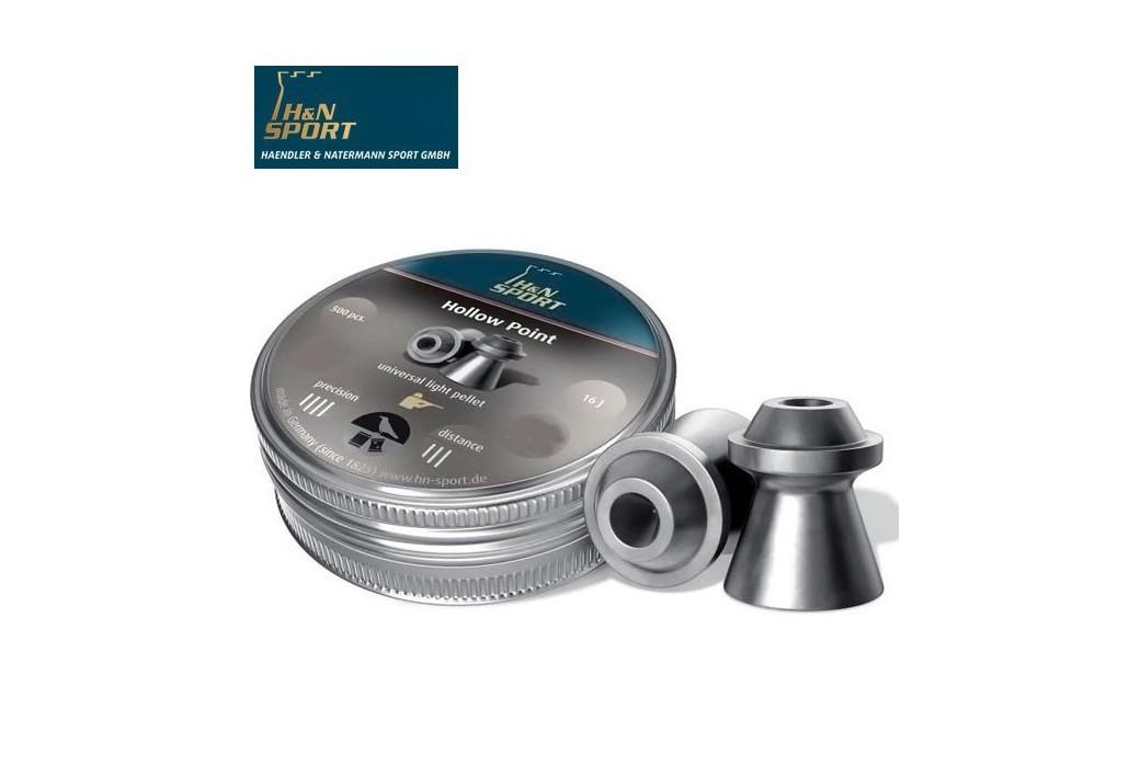 H&N HOLLOW POINT 6.35mm (.25) 200PCS