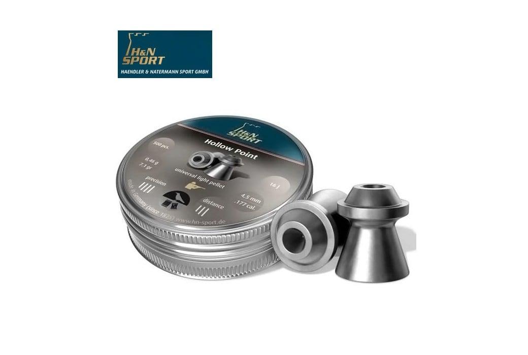 H&N HOLLOW POINT 4.50mm (.177) 500PCS