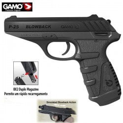 AIR PISTOLET GAMO P-25 BLOWBACK