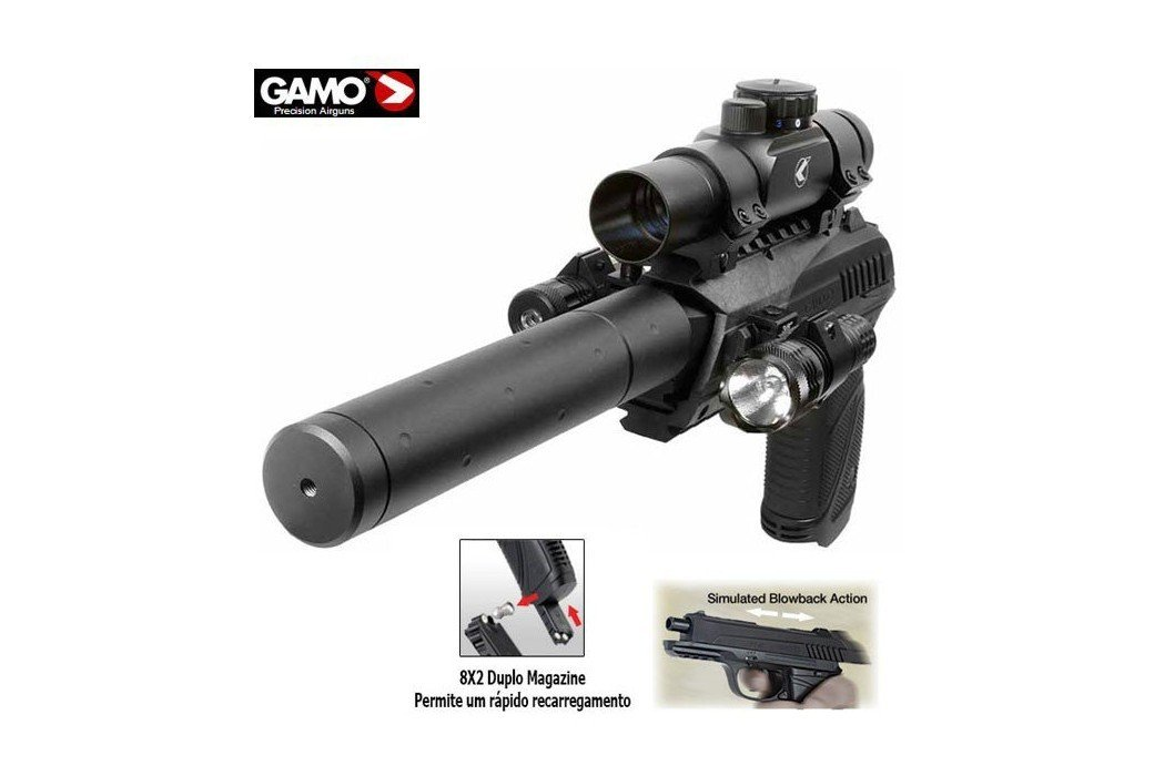GAMO PT-85 BLOWBACK TACTICAL