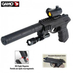 AIR PISTOLET GAMO P-25 BLOWBACK TACTICAL