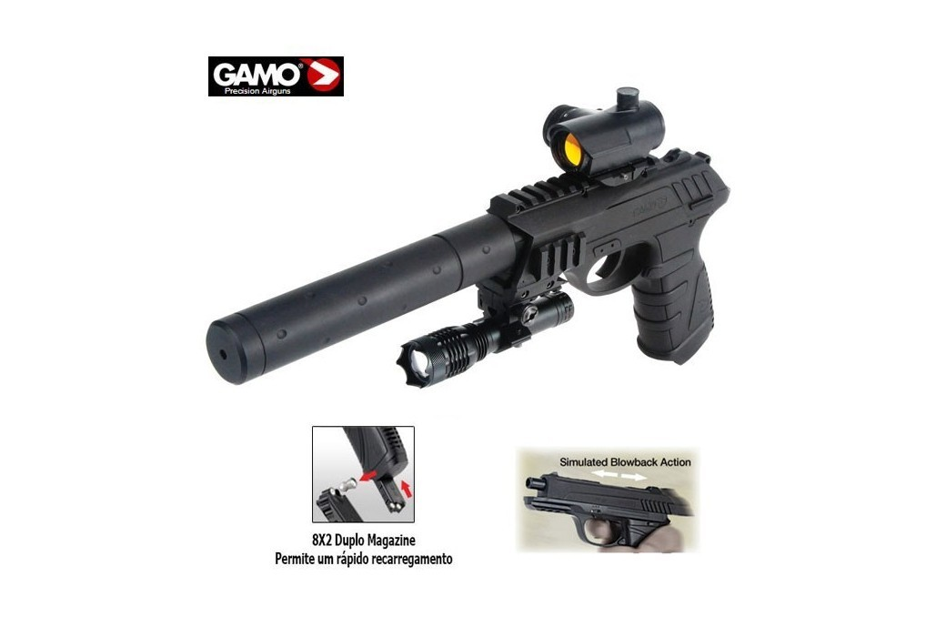 GAMO P-25 BLOWBACK TACTICAL