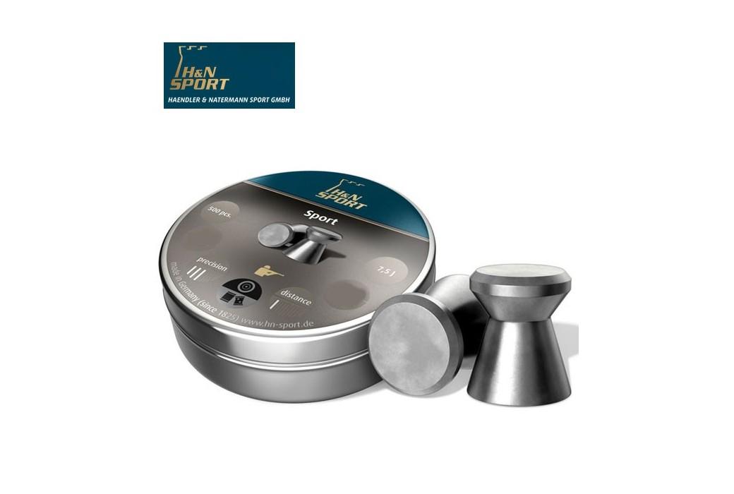 H&N SPORT 5.50mm (.22) 500PCS