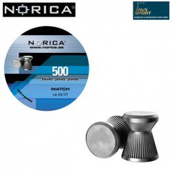 BALINES NORICA MATCH 4.50mm (.177) 500PCS