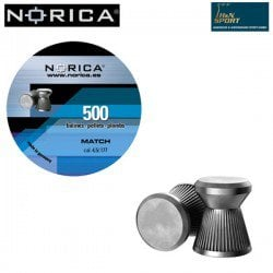 MUNITIONS NORICA MATCH 4.50mm (.177) 500PCS