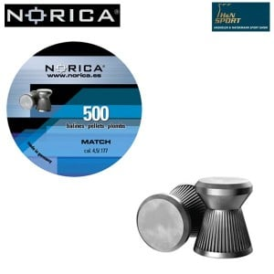 CHUMBO NORICA MATCH 4.50mm (.177) 500PCS