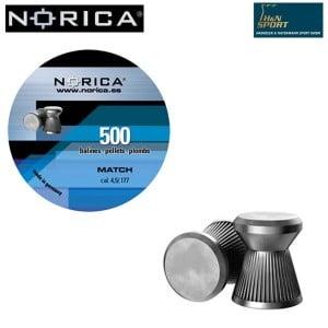 MUNITIONS NORICA MATCH 4.50mm (.177) 500PCS