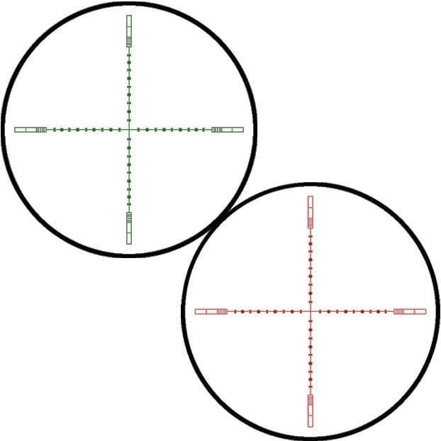 20X 1/2 Mil Dot IR (Red/Green)