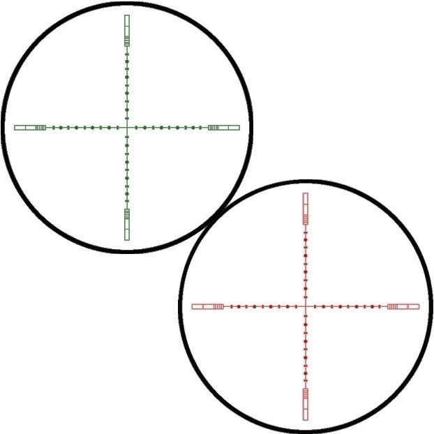 20X 1/2 Mil Dot IR (Vermelho/Verde)