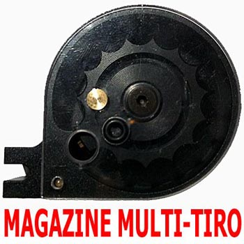 Magazine Multi-Tiro