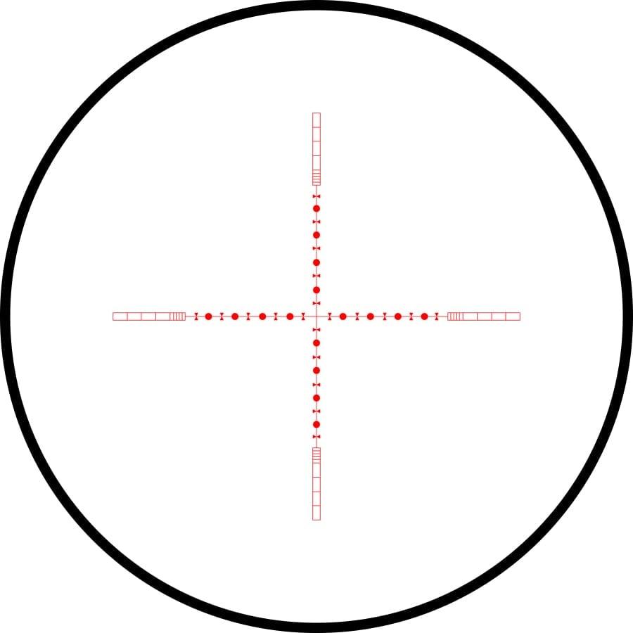 10X 1/2 Mil Dot IR (Vermelho/Verde)