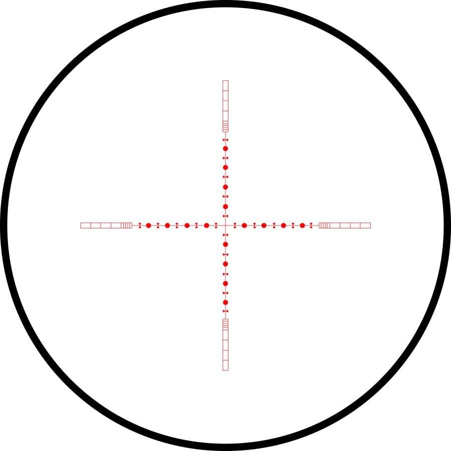 10X 1/2 Mil Dot IR (Rojo)