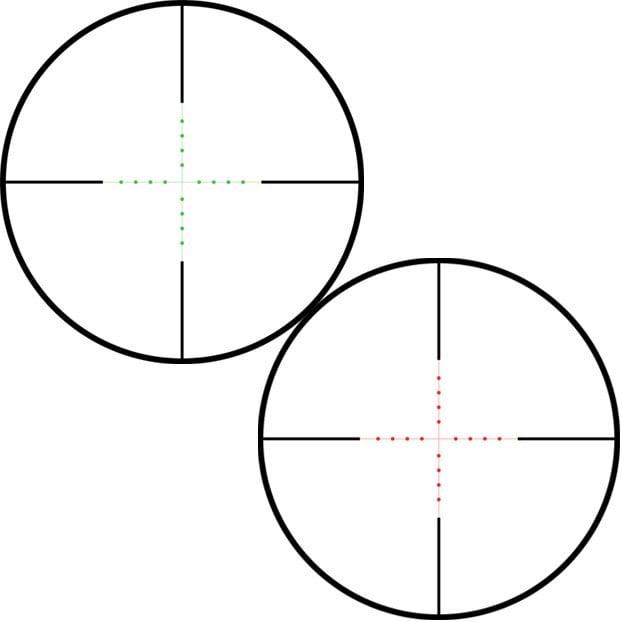 Mil Dot IR (Vermelho/Verde)