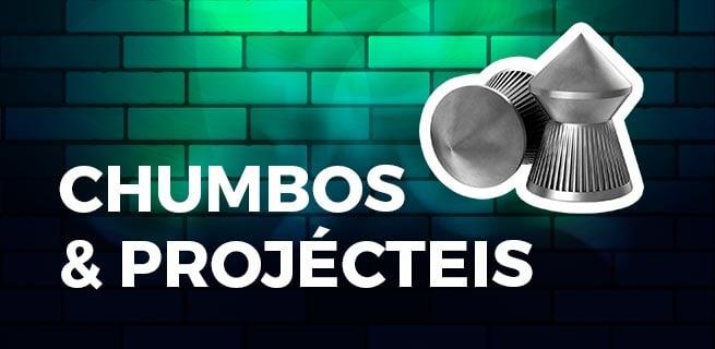 CHUMBOS|PROJÉCTEIS| MUNIÇÕES